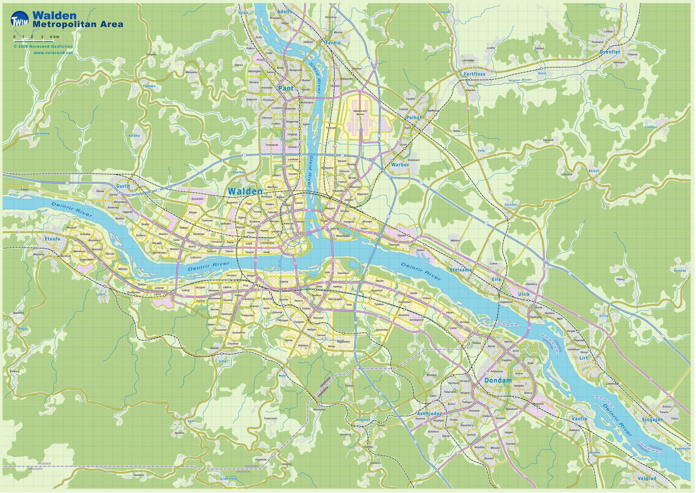 Fictional Island Maps